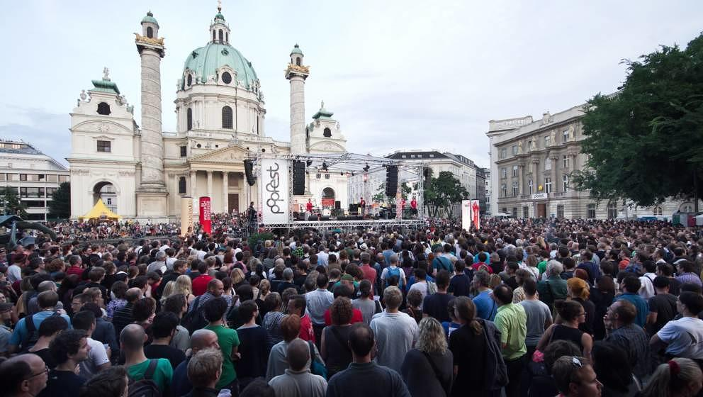So schaut's aus beim Popfest in Wien