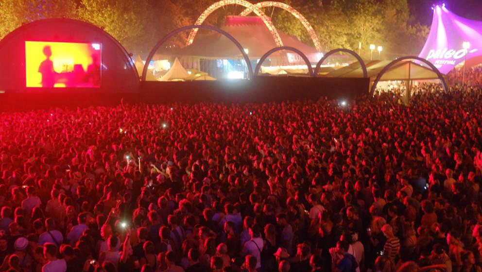 The Blaze beim Paléo Festival 2019.