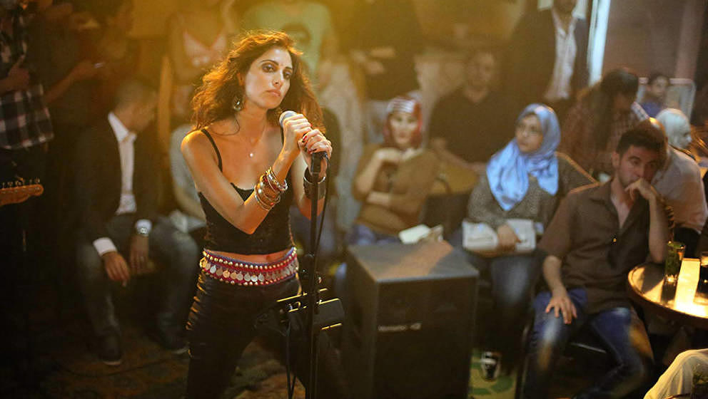 "Yasmine Hamdan in Jim Jarmuschs ""Only Lovers Left Alive""."