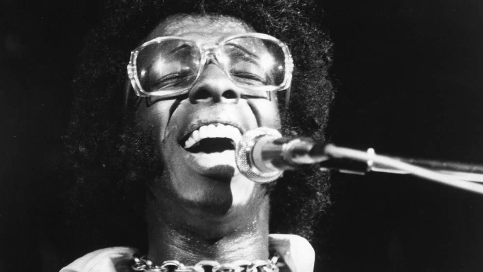 Sly & The Family Stone beim Woodstock-Festival, das dieses Jahr sein 50. Jubiläum feiert.