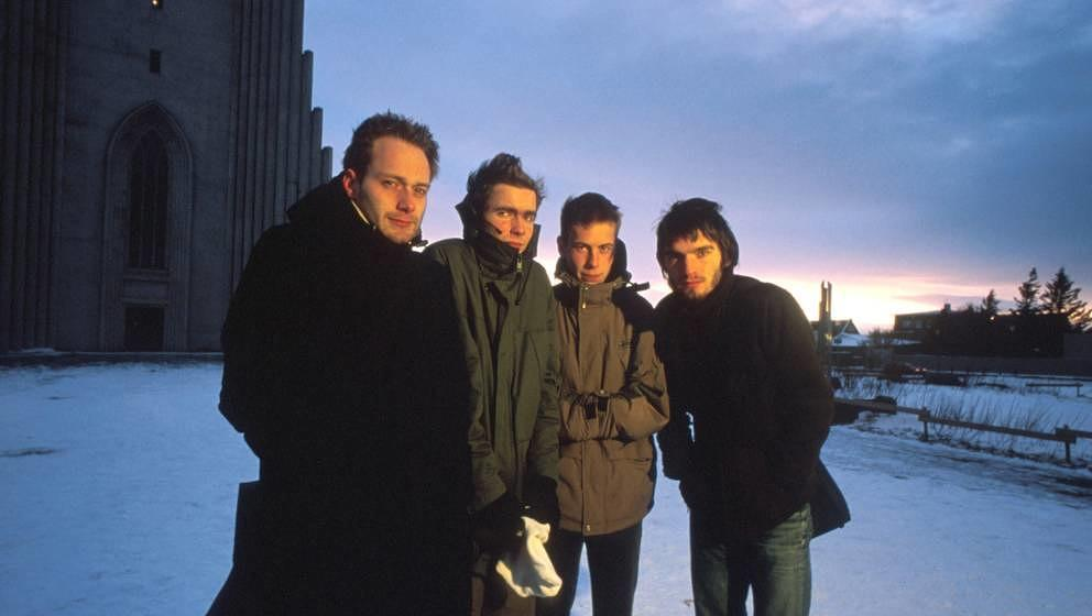 Sigur Ros, group portrait, Reykjavik, Iceland, 1997. (Photo by Martyn Goodacre/Getty Images)