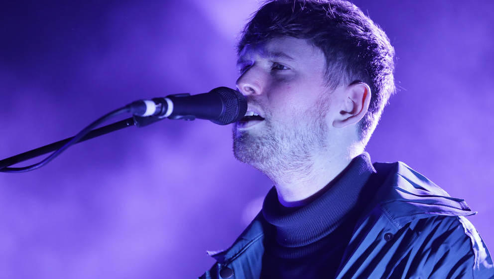 James Blake live im Juli 2019 in Neuseeland