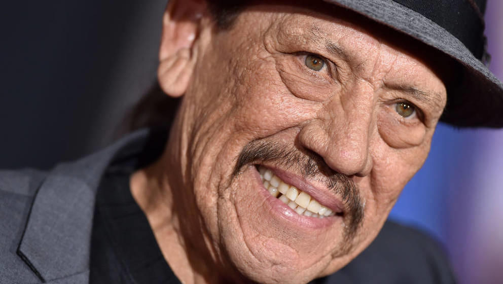 LOS ANGELES, CALIFORNIA - FEBRUARY 05: Danny Trejo attends the premiere of 20th Century Fox's 'Alita: Battle Angel' at Westwo