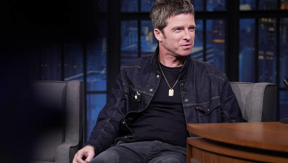 "Noel Gallagher am 6. August 2019 bei ""Late Night With Seth Meyers"""