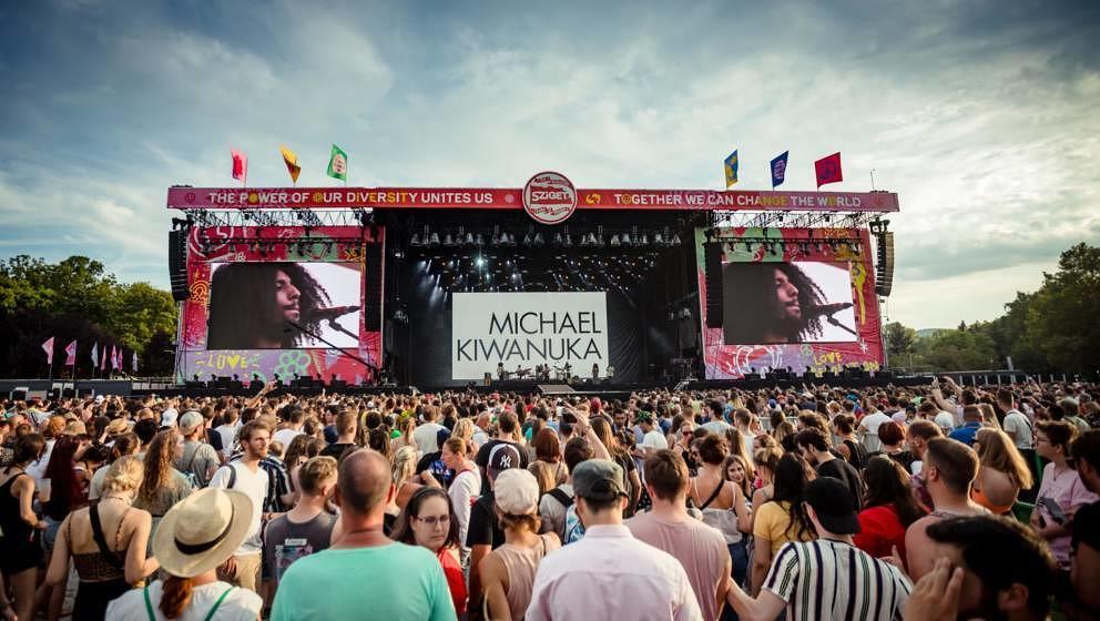 Michael Kawanuka beim Sziget Festival 2019