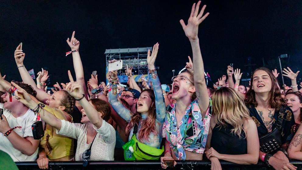 Fans auf dem Sziget Festival 2019