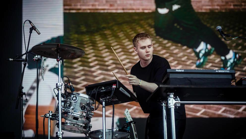 Mura Masa live beim Sziget Festival 2019