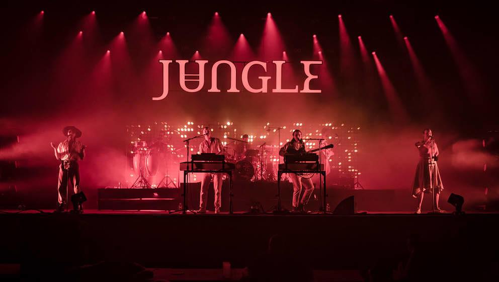 Jungle auf dem Sziget Festival 2019