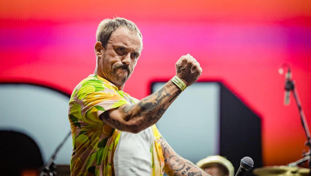 Idles beim Sziget Festival 2019