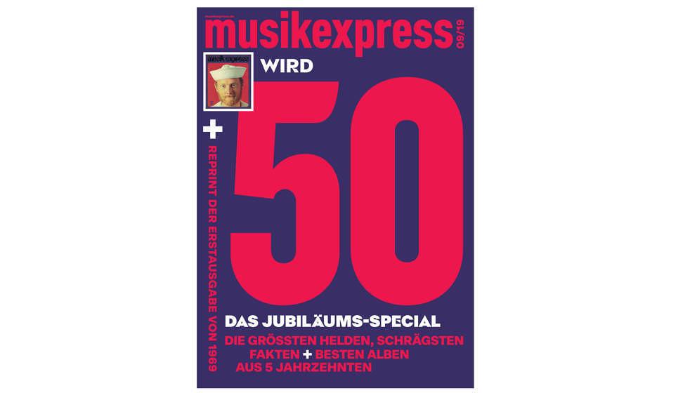"""Mit """"50 Jahre ME""""-Jubiläumsspecial und einem Ritt durch die Pop-Jahrzehnte: Der neue Musikexpress – jetzt am Kiosk! - Musikexpress"""