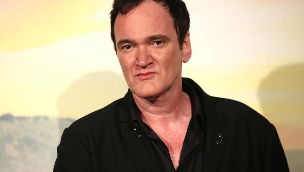 "Quentin Tarantino bei der Premiere zu ""Once Upon A Time In Hollywood"" am 2. August 2019 in Rom."