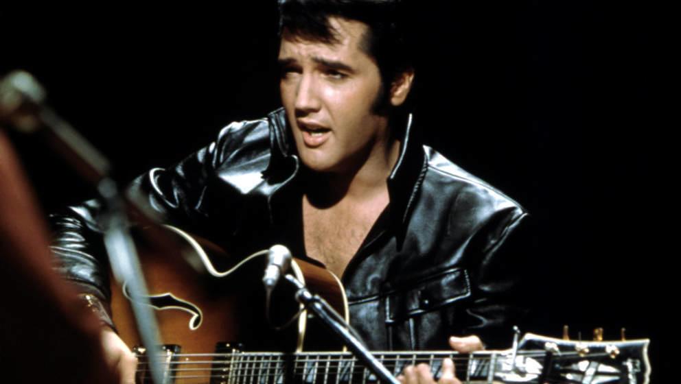 Elvis Presley live im Juni 1968