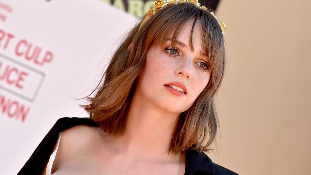 "Maya Hawke auf der Premiere zu ""Once Upon A Time In Hollywood"" am 22. Juli 2019 in Los Angeles"