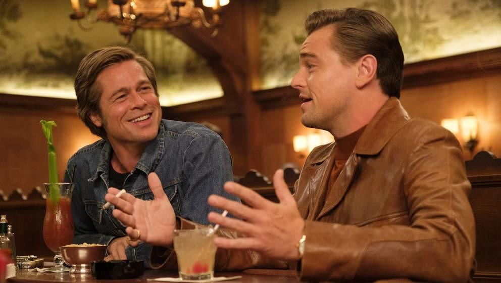"Brad Pitt und Leonardo DiCaprio in ""Once Upon A Time in Hollywood"""