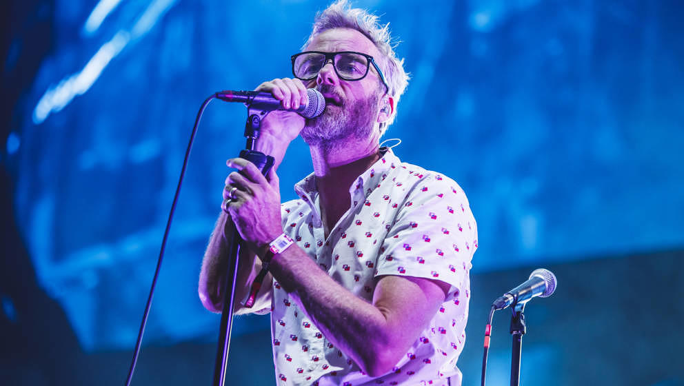The National Live im Juli 2019 in Madrid