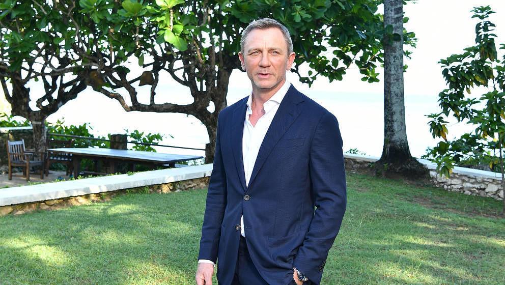 """Daniel Craig im April 2019 auf Jamaica bei der Launch-Party zu """"Bond 25"""""""