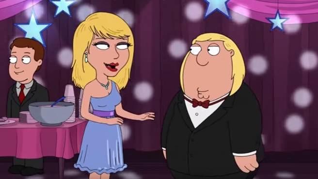 "Taylor Swift zu Besuch bei ""Family Guy"""