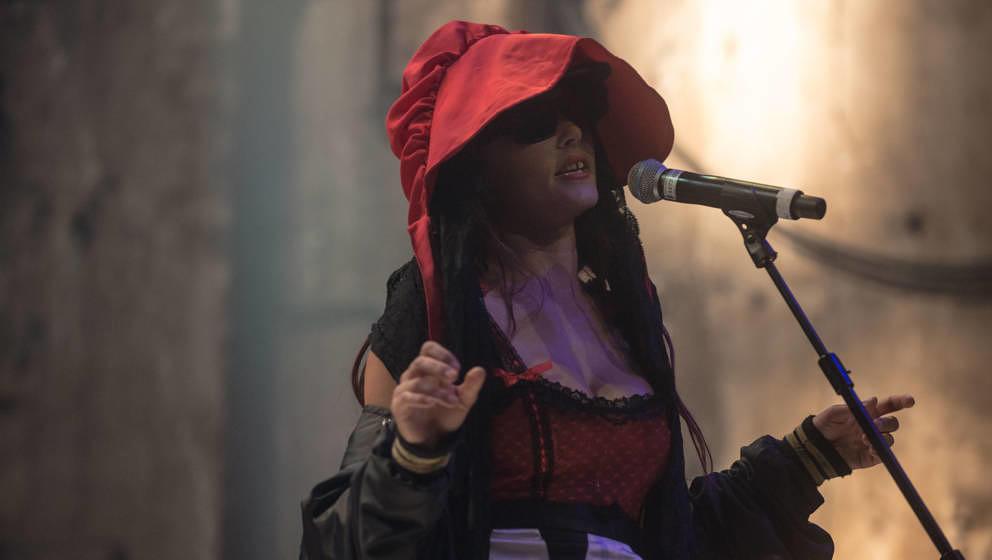 CocoRosie im Kesselhaus beim Pop-Kultur Festival in Berlin im Jahr 2019.