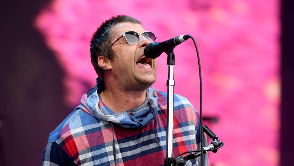 Liam Gallagher, hier beim Glastonbury Festival 2019