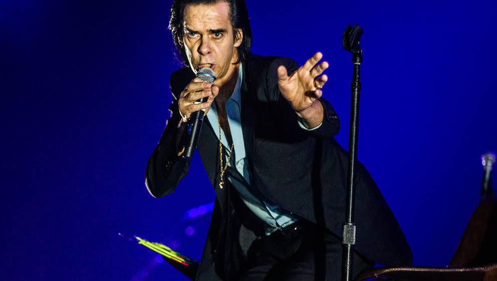 Nick Cave Live im Oktober 2017 in Amsterdam