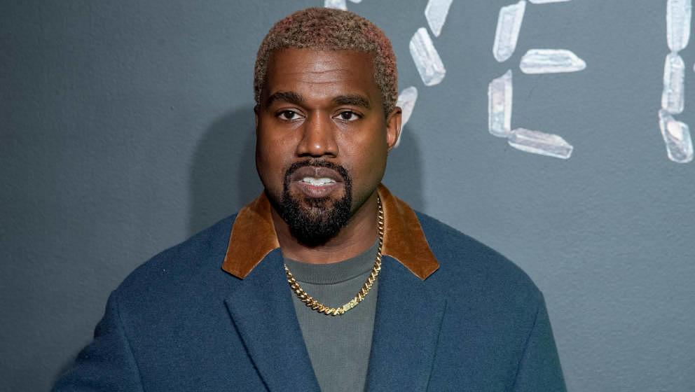 Kanye West im Dezember 2018 auf einer Versace-Veranstaltung in New York