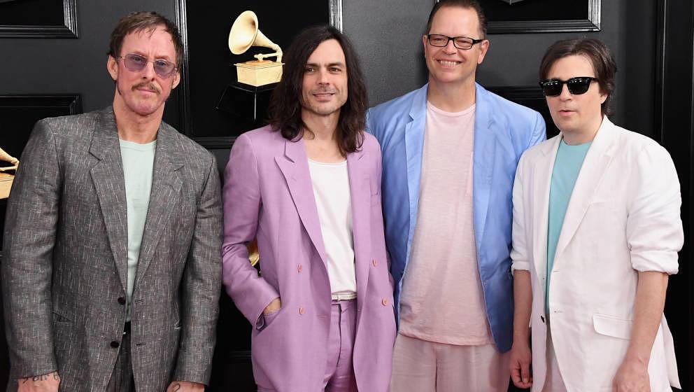 Weezer im Februar 2019