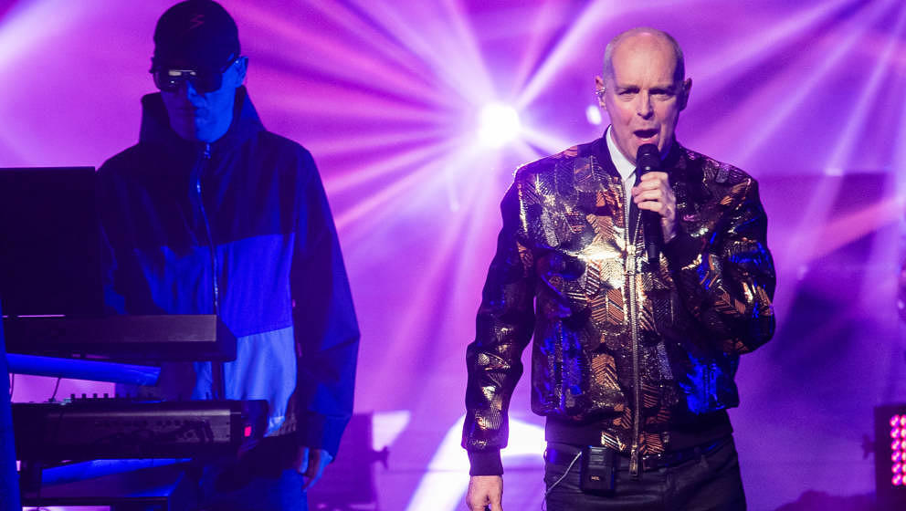 Pet Shop Boys Live in London am 25. Juli 201