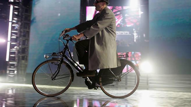 """Fuhr schon immer lieber Fahrrad als SUV: Adam """"Ad-Rock"""" Horovitz von den Beastie Boys, hier bei den MTV Europe Music Awards 2004"""
