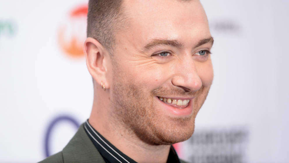 LONDON, ENGLAND - JULY 05: Sam Smith attends the Nordoff Robbins O2 Silver Clef Awards 2019 at Grosvenor House on July 05, 20