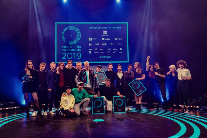 Die Gewinner beim Preis für Popkultur 2019