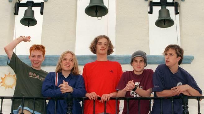 Echt am 29. Juni 1999 bei einer Fernsehaufzeichnung im Hansa-Park in Sierksdorf.