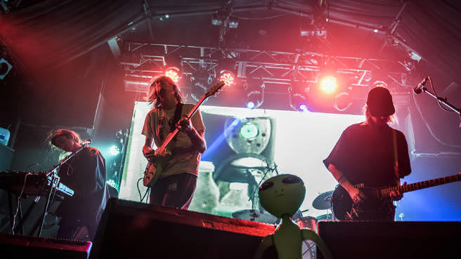 DIIV Live beim Heaven of March in London, 2016