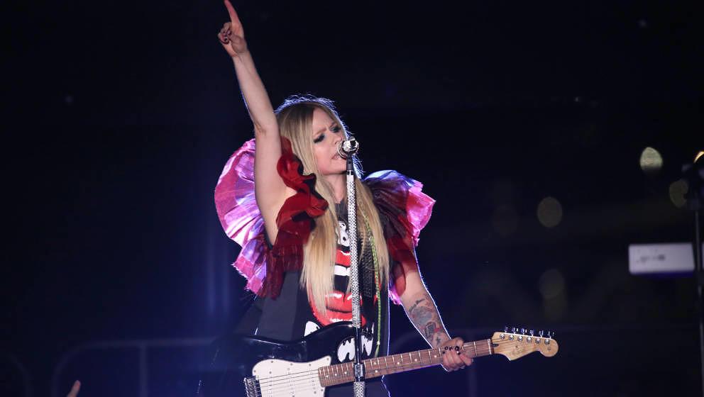 Avril Lavigne live in New York, Oktober 2017