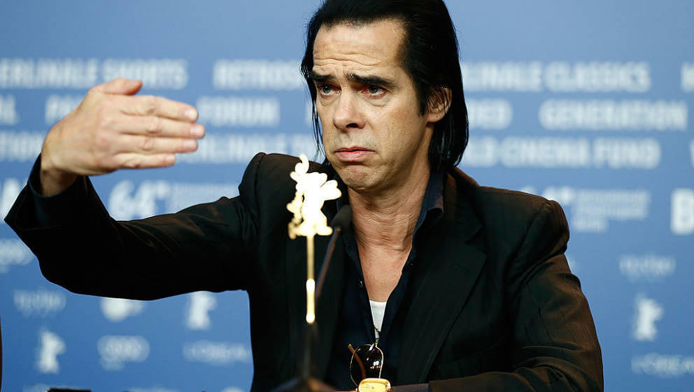 BERLIN, GERMANY - FEBRUARY 10:  Nick Cave attends the '20.000 Days on Earth' press conference during 64th Berlinale Internati