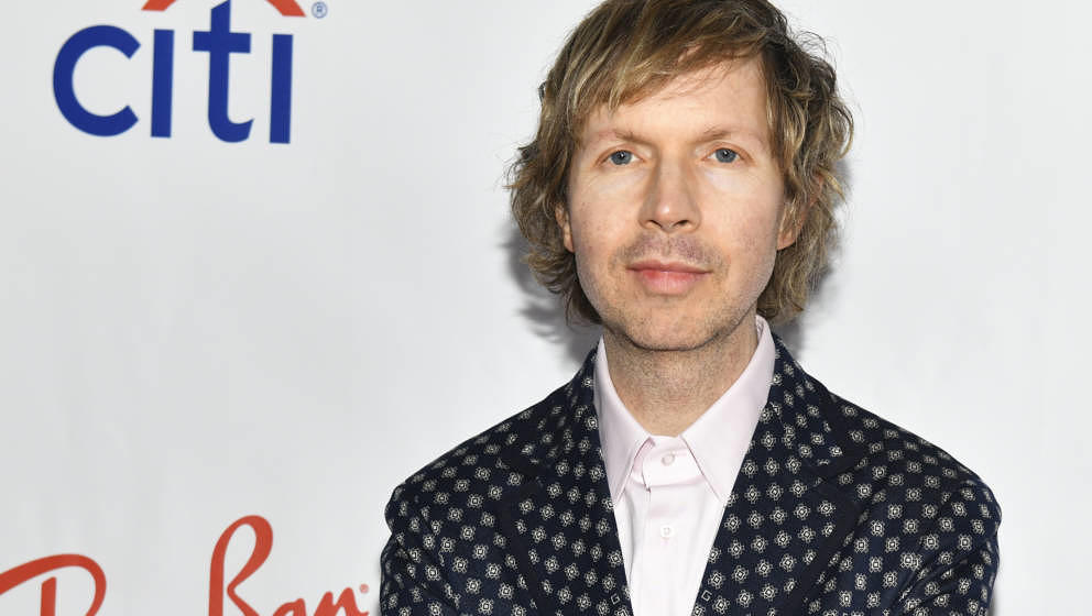 LOS ANGELES, CALIFORNIA - FEBRUARY 10: Beck attends the Universal Music Group's 2019 After Party To Celebrate The GRAMMYs at