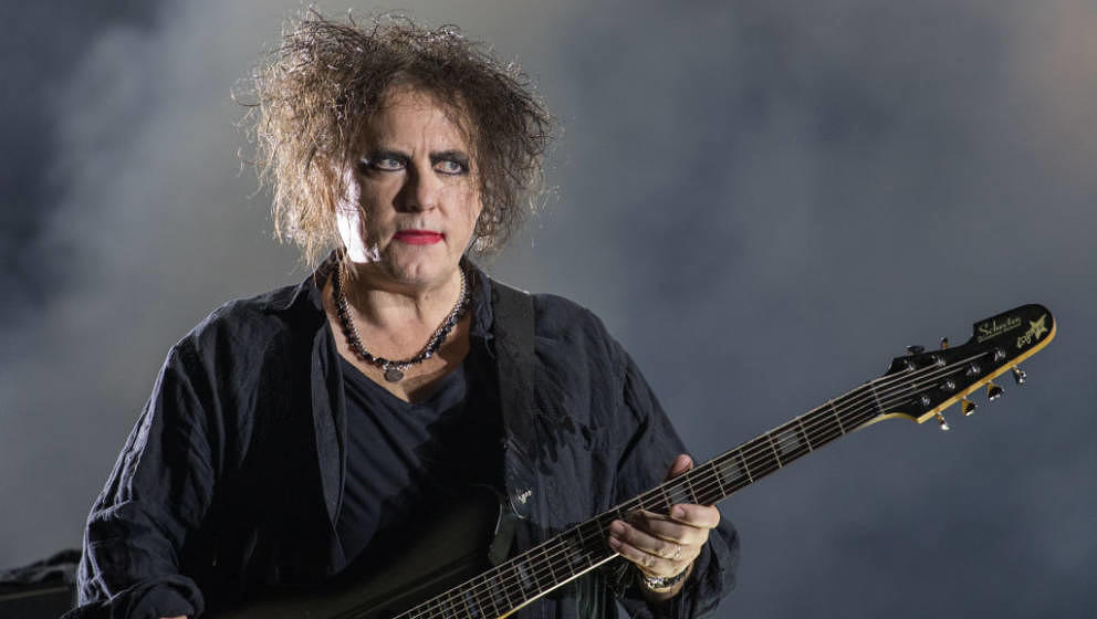 AUSTIN, TEXAS - OCTOBER 12: Singer-songwriter Robert Smith of The Cure performs onstage during weekend two, day two of Austin