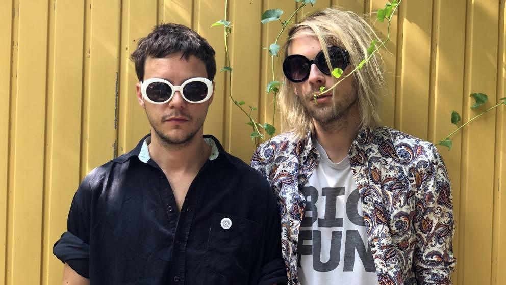 Mit neuer Single und neuem Album am Start: Das Hamburger Noisepunk-Duo Die Cigaretten.