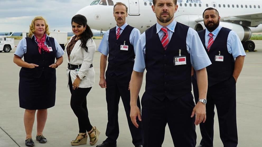 """Check Check"": Das ist die Security-Crew des ""Airport Simmering"""