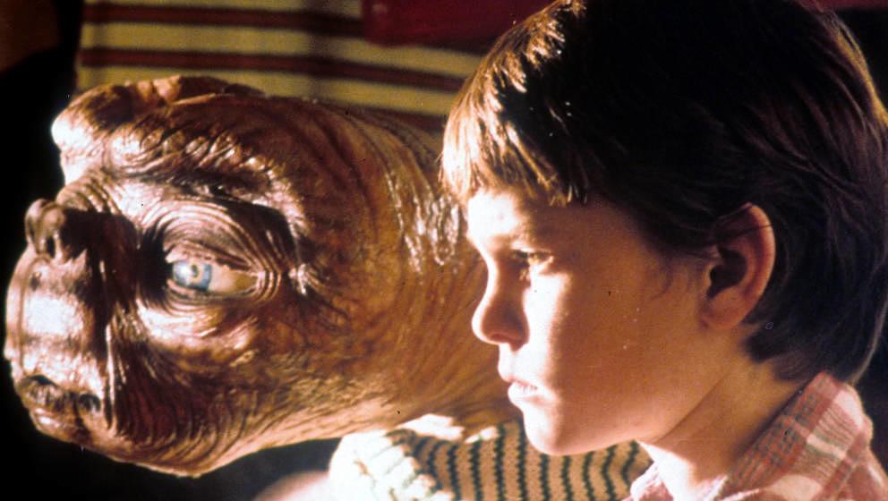 """Henry Thomas in einer Szene aus dem Film """"E.T."""", 1982"""