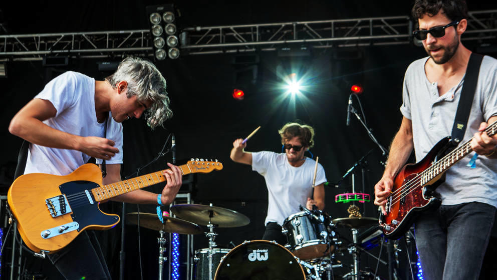 We Are Scientists live beim Bumbershoot Music and Arts Festival im August 2014
