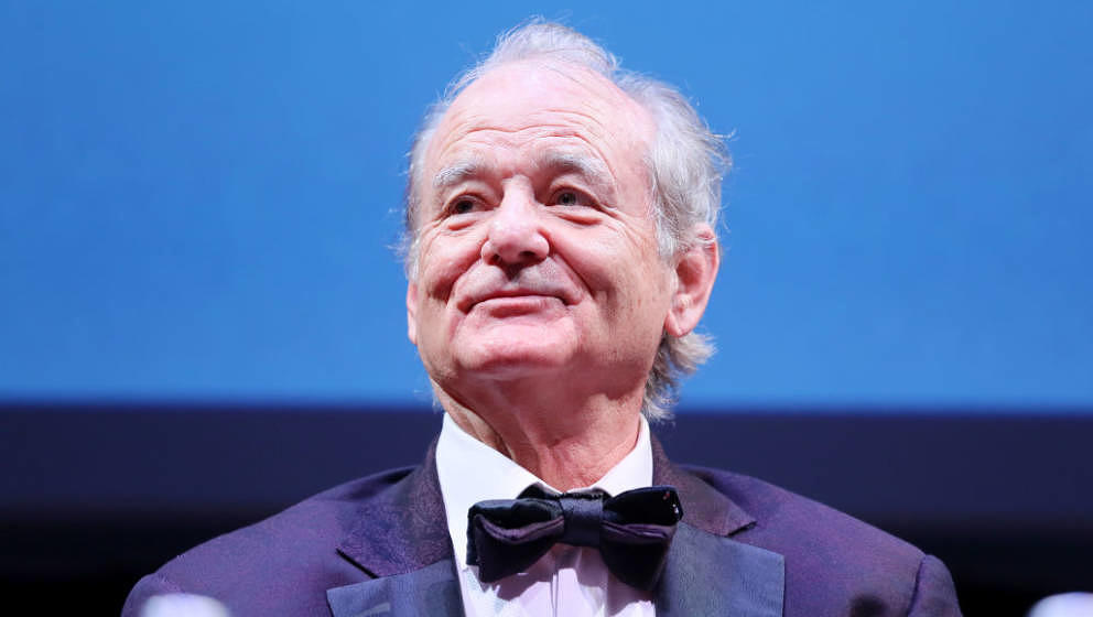 ROME, ITALY - OCTOBER 19: Bill Murray attends the masterclass during the 14th Rome Film Festival on October 19, 2019 in Rome,