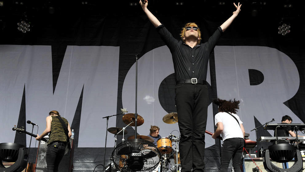 My Chemical Romance live beim Melbourne Big Day Out Festival 2012
