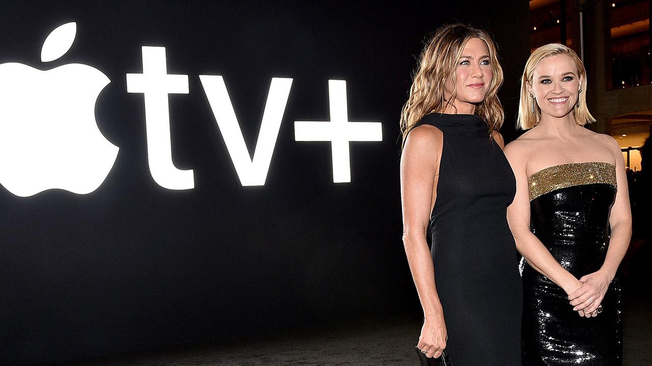 Für Apple TV+ konnten unter anderem Jennifer Aniston und Reese Witherspoon verpflichtet werden.