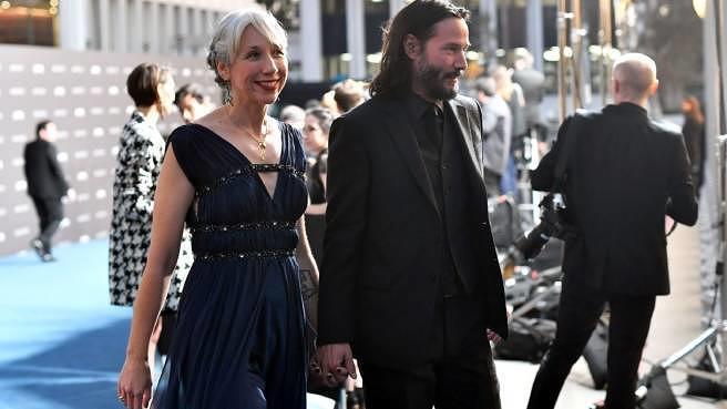 Sind halt ein Paar: Keanu Reeves und Alexandra Grant am 2. November 2019 in Los Angeles.