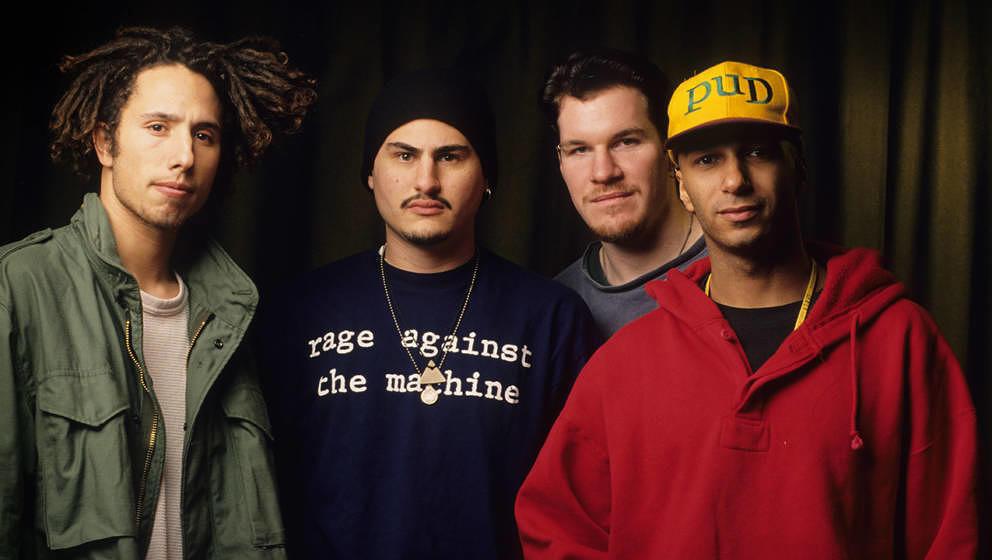 Rage Against The Machine im Jahr 1993