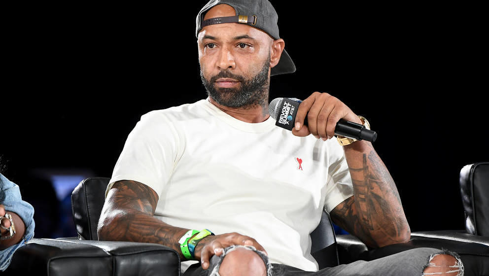ATLANTA, GEORGIA - SEPTEMBER 13: Joe Budden speaks onstage during day 2 of REVOLT Summit x AT&T Summit on September 13, 2