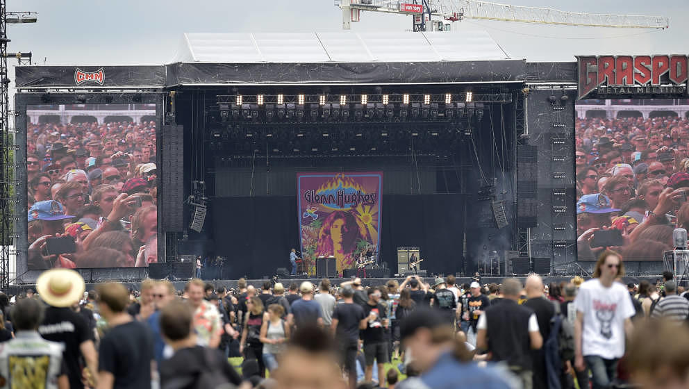Illustration picture shows the first day of the Graspop Metal Meeting festival in Dessel, on Friday 21 June 2019. BELGA PHOTO