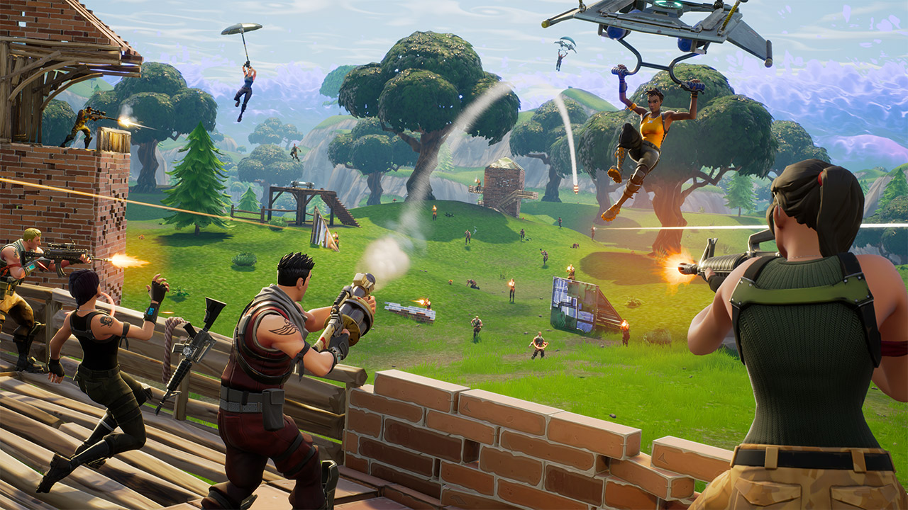 """""""Fortnite"""" ist zum Gaming-Phänomen geworden"""
