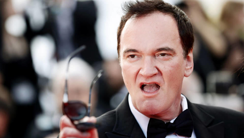 CANNES, FRANCE - MAY 25: Quentin Tarantino attends the closing ceremony screening of 'The Specials' during the 72nd annual Ca
