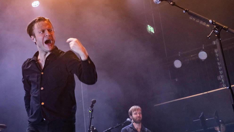 Ihn kennen auch die alten Mando-Diao-Fans noch: Sänger Björn Dixgard